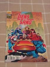 LIENS DU SANG Comics SEMIC super heros FRENCH VF MARVEL TOP BD LUG