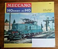 catalogue  meccano   HOrnby  acHO   1963...  superbe