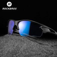 ROCKBROS Photochromic Cycling Sunglasses Polarized Lens Sports UV400 3 Styles
