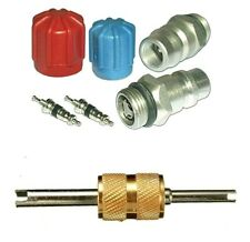 A/C System Valve Core and Cap Kit + Schrader Remover MT2904