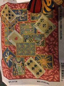 EHRMAN TAPESTRY KIT  PLAYING CARDS 1992 BAHOUTH