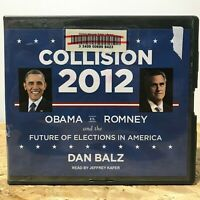 Collision 2012 by Dan Balz Ex Library 13 CD Unabridged Audiobook Free Shipping
