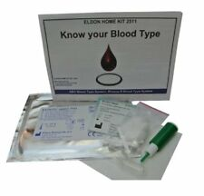 Kit De Prueba De Tipo De Sangre Grupo Sanguíneo EldonCard Lanceta Toalla Gotero