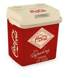 Cubes Coolbox Cocacola Retro Mobile Glacière 19L Capacité Nette 12V Électrique