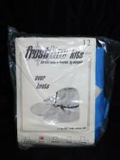 Vintage Frostline Sewing Kit Blue Overboots S New NIP Nylon Booties Over Boots