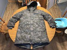 Nike Sportswear NSW Synthetic Fill Parka Size Small Dark Obsidian AA8859-475