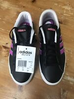 NEW Adidas Neo Daily QT Women's Trainers (UK 4.5) Black