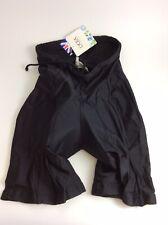 Dupoint vintage Black Lycra Padded cycling Shorts size large