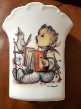 M.J. Hummel - Let's Sing Porcelain Vase 4-1/2� Made In Germany