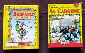 Bohnanza und Al Cabohne Kartenspiele