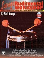 Savage Rudimental Workshop : Bass by Matt Savage (2001, Paperback) with 2 CDs