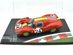 MODELLINI AUTO FERRARI RACING COLLECTION SCALA 1/43 DIECAST 330 P4 LE MANS IXO