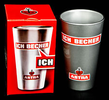 "Astra Bier Glas / Gläser, Becher ""ICH Becher"" St Pauli Hamburg Kiez NEU OVP"