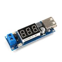 DC-DC Step-down Power Module 6.5v12V~40V To 5V Car Voltmeter USB Charging Supply