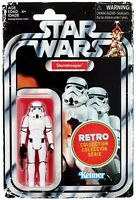 """Star Wars Retro Collection Stormtrooper 3.75"""" 1970's Vintage Style Action Figure"""