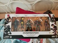Hasbro Overwatch Ultimates Carbon Series Action Figure 4-Pack Set