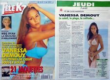 VANESSA DEMOUY => COUPURE DE PRESSE 2 PAGES 1995 !!!
