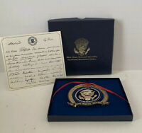 In Box 1989 White House Ornament The Bicentennial Of The Presidency Org Paperwor
