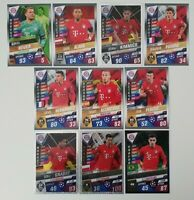 2020 Match Attax 101 Soccer Cards - Bayern Munich Team Set incl 4 shiny
