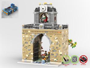 Modular Park Passage - MOC - PDF Instructions Manual - Compatible with LEGO