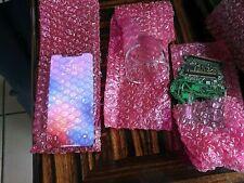 "100 Anti-Static ~3.9 x 12"" Pink Bubble Bag Cushioning Wrap Padding Packing 3/16"""