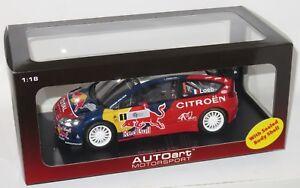 1/18 Citroen C4 WRC Red Bull  1st Rallye de France Tour de Corse 2008  S.Loeb