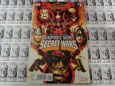 Deadpool Secret Secret Wars (2015) Marvel - #1, Secret Wars, Bunn/Lolli, NM