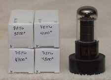Type 7EY6  vacuum tubes radio, TV, HAM, tested, repackaged, used