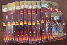 11 Sealed Star Wars CCG Sith Rising Booster Packs