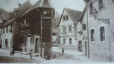 """Bruchsal/Baden """"Partie aus der Altstadt"""" tolle interessante Ansichtskarte 1934"""