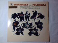 IGOR STRAVINSKY Pergolesi Pulcinella lp ITALY RARO CBS