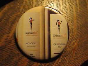 Skinny Girl Moscato California Red Wine Advertisement Pocket Lipstick Mirror