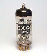 Siemens e80cf tube, mil spec ecf80 avec goldpins, made by telefunken