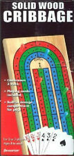 Cribbage ~ 3 Track Game + Cards ~ Folding Cribbage Board by Pressman NEW