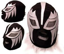 Plata Commercial Pro Wrestling Mask Lucha Libre AAA WWE