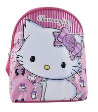 Hello Kitty Charmmykitty Tiny Backpack with Raised Shiny Motif