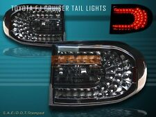 2007-2010 TOYOTA FJ CRUISER SMOKE L.E.D TAIL LIGHTS LED 08 09 NEW