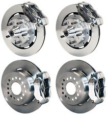 "WILWOOD DISC BRAKE KIT,59-64 IMPALA,BEL AIR,12"" ROTORS,POLISHED CALIPERS"