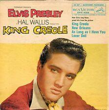 ELVIS PRESLEY - King Creole - 1958 RCA Records 45 EP