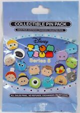 Disney Pin Collectible TSUM TSUM SERIES 5  Mystery Pack Randomly SEALED Set of 5