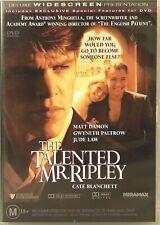 The Talented Mr Ripley Dvd Matt Damon Region 4 Very Good