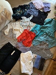 Large Bundle Of Quality Women's Ladies Size 16 Summer Tops Clothes