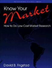 Know Your Market: How to Do Low-Cost Market Research Psi Successful Business Li