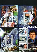 GUINEE 2007 LE TOURISME SPATIAL SPACE COSMOS ASTRONAUTS VIRGIN SHUTTLE STAMP MNH