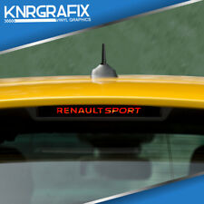 KNR0421 - RENAULT SPORT BRAKE LIGHT STICKER DECAL - CLIO Mk4 IV RS 200 220