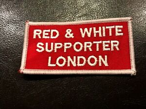 Red & White London PATCH - Hells Angels Support Gear - Big Red Machine London