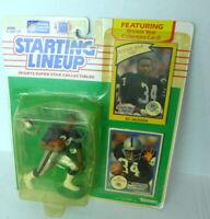 1990 STARTING LINEUP BO JACKSON includes Rookie Card 1989 SLU