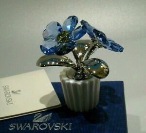 RARE SWAROVSKI Crystal FLOWER Forget-Me-Not 5045569-1 NIB Retired 2014