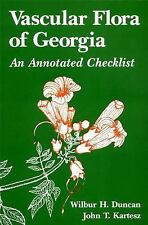 VASCULAR FLORA OF GEORGIA - NEW PAPERBACK BOOK