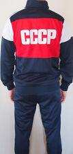 Adidas USSR CCCP vintage Soviet Union Russia track suit 80 olympics uniform mens